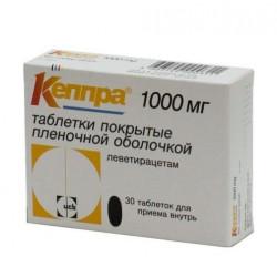 Buy Keppra coated tablets 1000mg №30