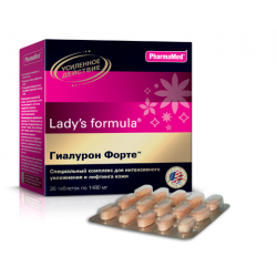 Buy Lady-with formula hyaluron forte №30