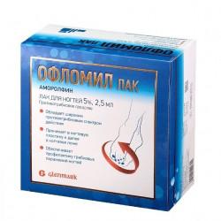 Buy Oflomil nail polish 5% 2.5ml
