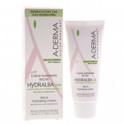 Buy A-derma (a-derma) hydralba 24h saturated moisturizing cream 40ml