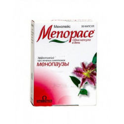Buy Menopaceus capsules No. 30
