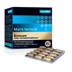 Buy Men-s formula is more than multivitamin number 60 capsules