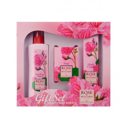 Buy My rose of bulgaria (rose of Bulgaria) gift set rose.water + soap + d / hand cream