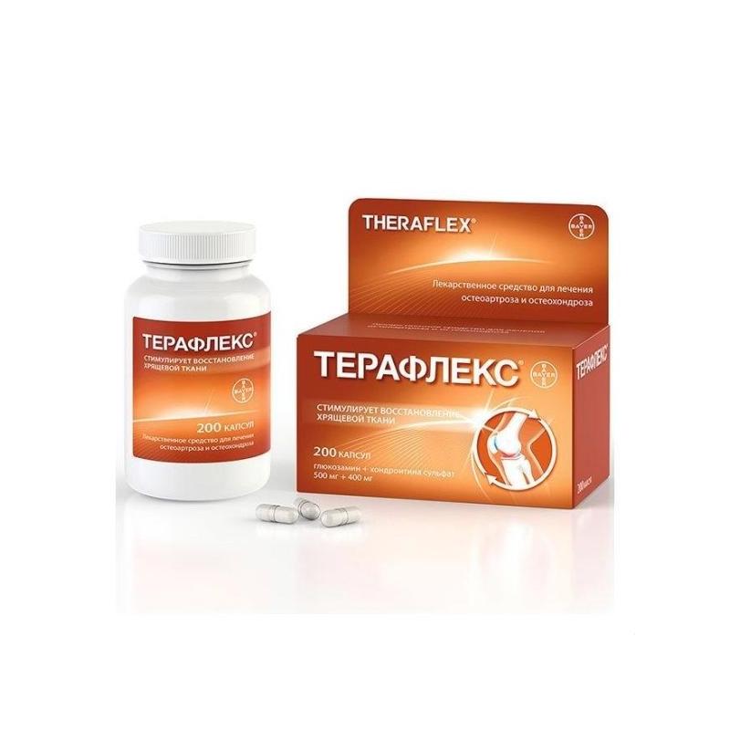 Gel teraflex pentru articulații Comprimate pentru tratamentul articulațiilor teraflex