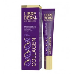 Buy Librederm (libiberm) collagen rejuvenation cream for eye contact 20ml