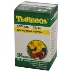 Buy Tykveol capsules 450mg №84