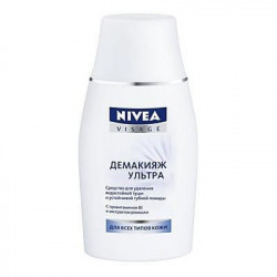 Buy Nivea (Niveya) make-up remover make-up remover. eye make-up 125ml