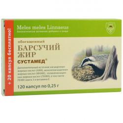 Buy Badger fat capsules №120
