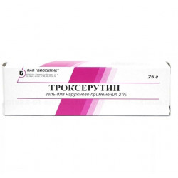 Buy Troxerutin gel 2% 25g