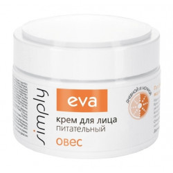 Buy Eva (eva) simpli nutritious face cream with oat extract 50ml