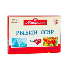 Buy Fish oil capsules of 0.3 g rosehip №100