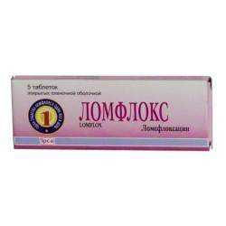 Buy Lomfloks coated tablets 400mg №5