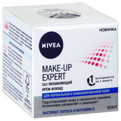 Buy Nivea (Nivea) make-up expert cream-fluid for normal and combination skin 50ml
