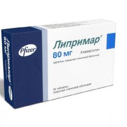 Buy Liprimar tablets 80mg №30