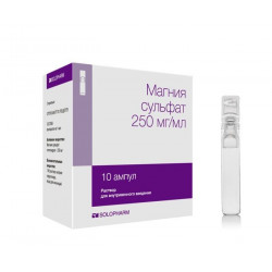 Buy Magnesium sulfate ampoules 25% 10ml №10
