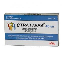 Buy Strattera capsules 40mg №7