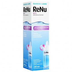 Buy Renu solution for the care of contact lenses 240ml