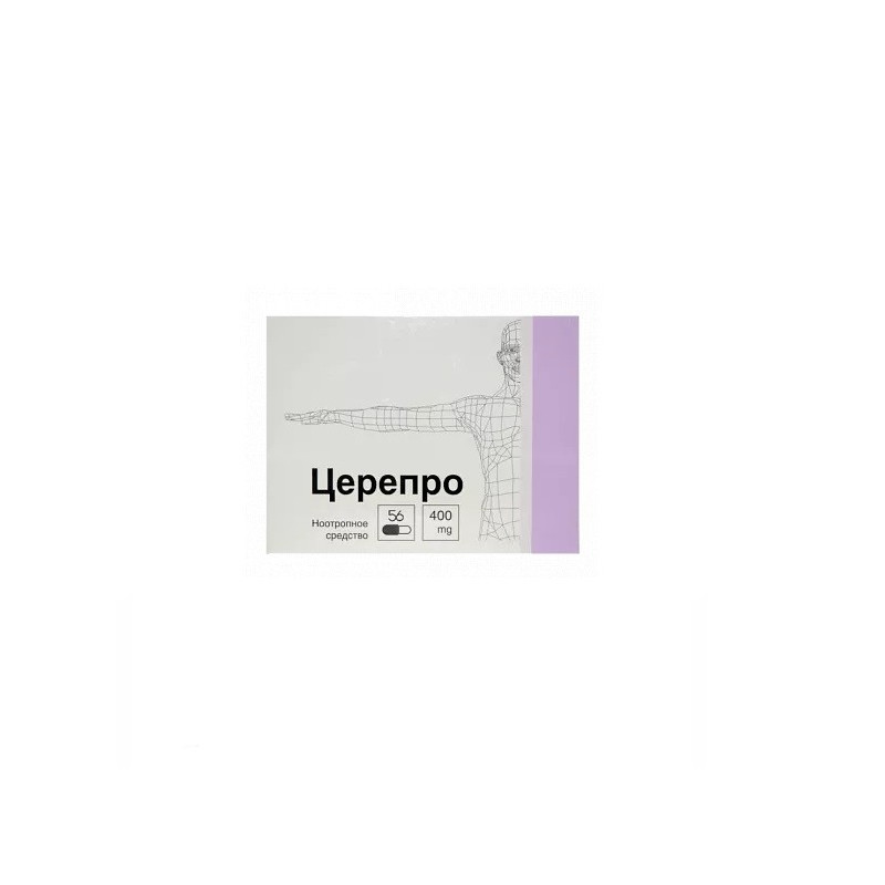 Buy Cerepro 400mg capsules number 56