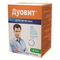 Buy Duovit for men tablets number 30
