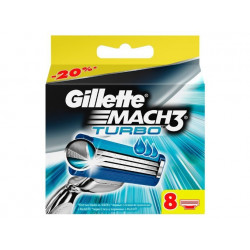 Buy Gillette Mach 3 turbo cassette (8pcs)