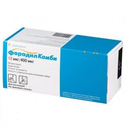 Buy Foradil combi capsules 12mcg / 400 mcg №120