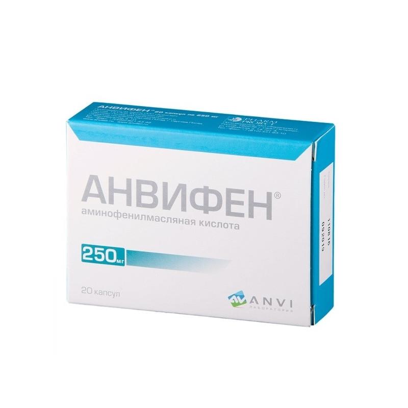 Buy Anvifen Capsules 250mg №20