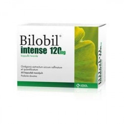 Buy Bilobil Intensive Capsules 120mg №20