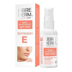 Buy Librederm (libriderm) antioxidant cream Vit e 50ml for face