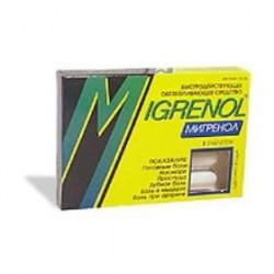 Buy Migrenol tablets number 8