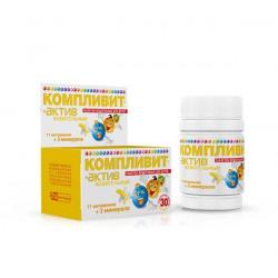 Buy Complivit active chewable tablets for children №30 banana
