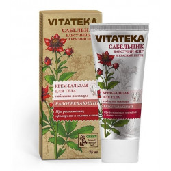 Buy Vitateka (Vitateca) body warming cream-balsam 75ml