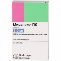 Buy Mirapex pd tablets 3 mg No. 30