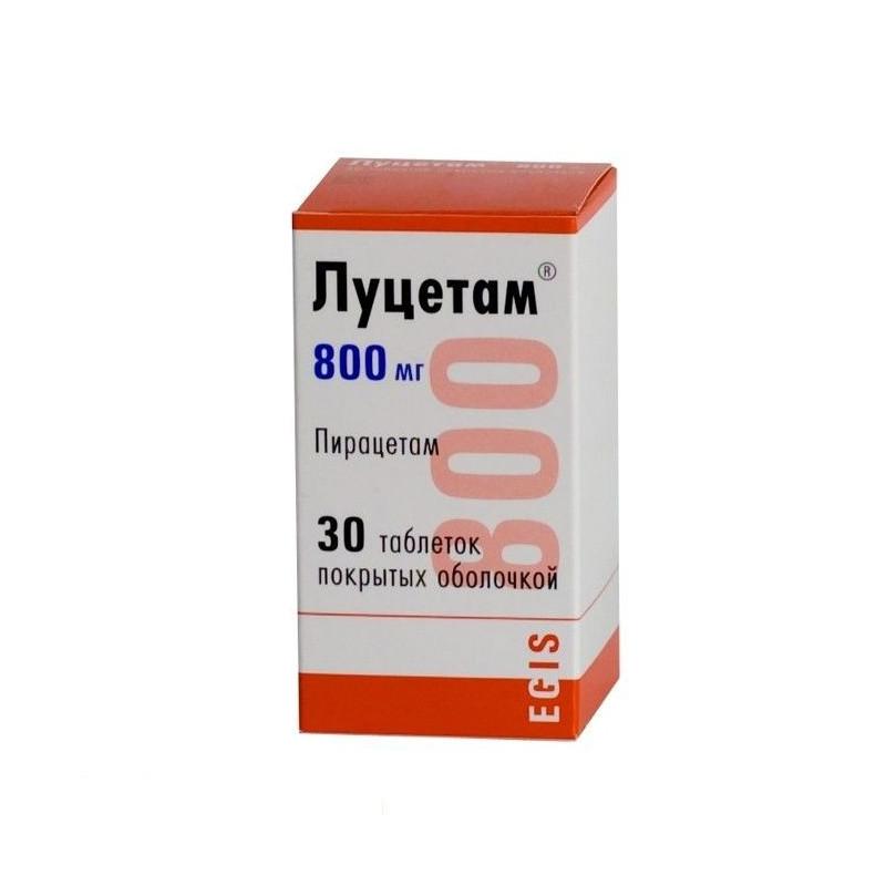 Buy Lucetam coated tablets 800mg №30