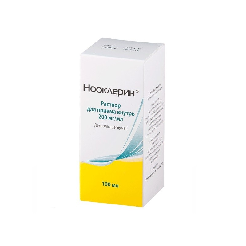 Buy Nooclerin solution 20% 100ml