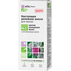 Buy Elfapharm (elf farm) burdock oil for hair loss 100ml