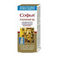 Buy Sophia bee venom, chondroitin-glucosamine for the body 75ml