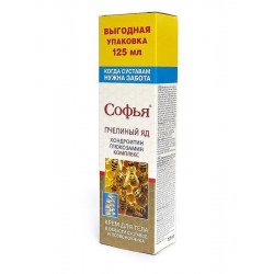 Buy Sophia bee venom, chondroitin-glucosamine for the body 125ml