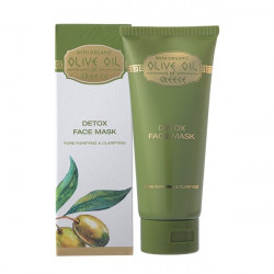 Buy Olive oil of greece (Olive oil of Greece) face mask detox 100ml