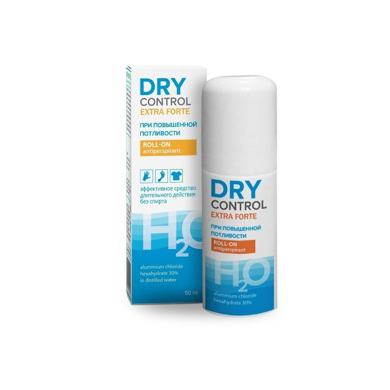 Buy Dry control extra forte alcohol free sweating 30% 50ml