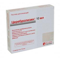 Buy Cerebrolysin ampoules 10ml No. 5