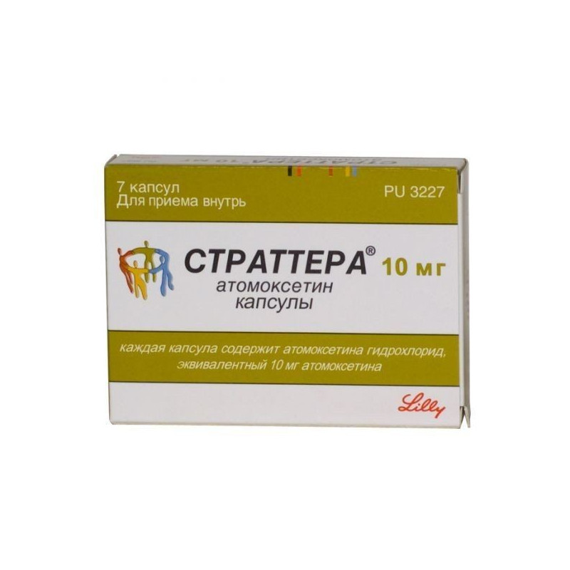 Buy Strattera capsules 10mg №7