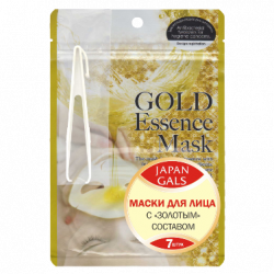 Buy Facial mask with gold makeup japan gals №7