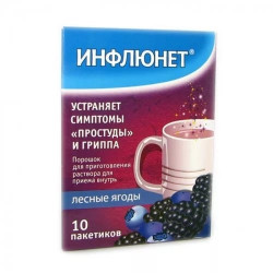 Buy Influnet powder package number 10 wild berries