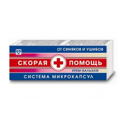 Buy Ambulance cream-balsam for bruises and bruises 100ml