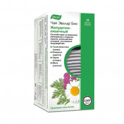 Buy Tea Evalar bio filter pack 1.8g №20 gastrointestinal