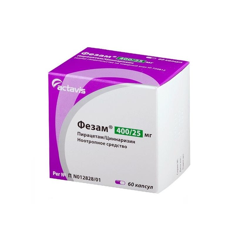 Buy Fezam capsules number 60