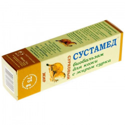 Buy Sustamed biobalm for joints 75ml Surkov fat