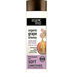 Buy Organik shop (organic shop) hair balm 280ml grape honey