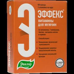 Buy Effeks vitamins for men capsules number 60