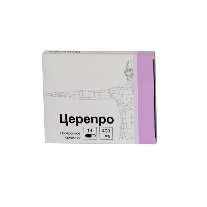 Buy Cerepro 400mg capsules №14